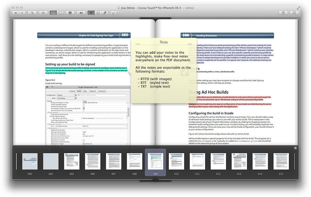 Screenshot 1 for PDF Assistant