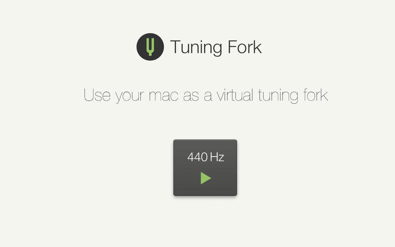 Screenshot 1 for Tuning Fork