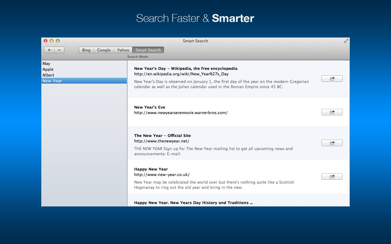 Screenshot 1 for Smart Search