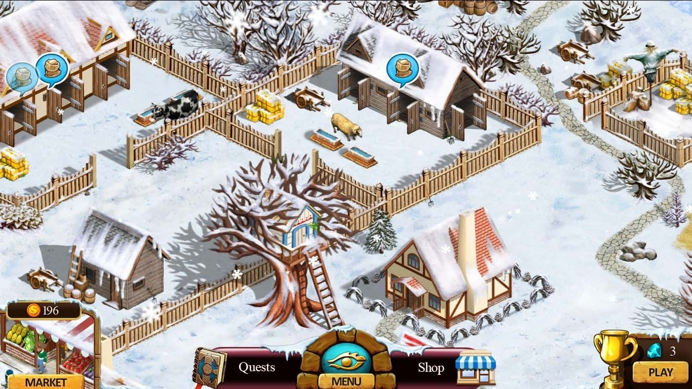 Screenshot 1 for Farmington Tales 2: Winter Crop