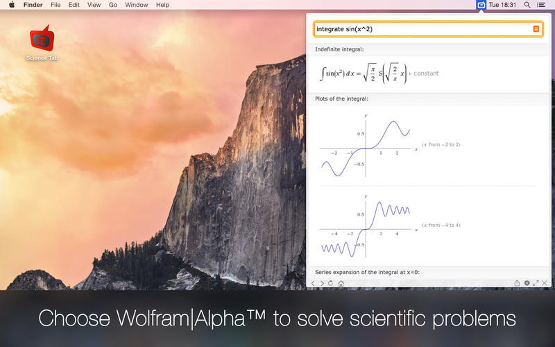 Screenshot 1 for Science Tab