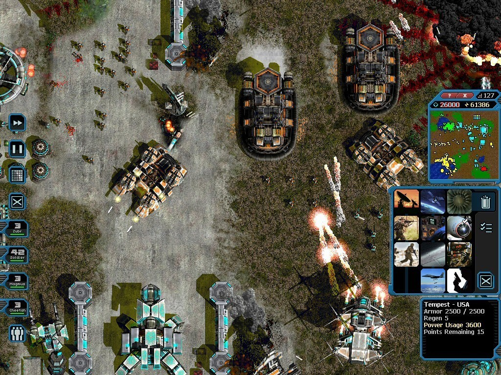Screenshot 1 for Machines at War 3