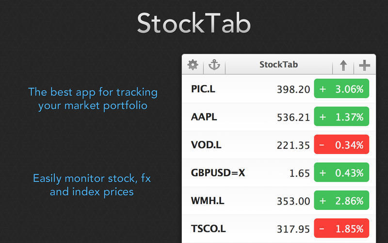 Screenshot 1 for StockTab