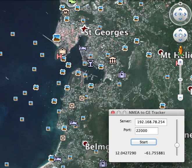 Screenshot 1 for NMEA2GE