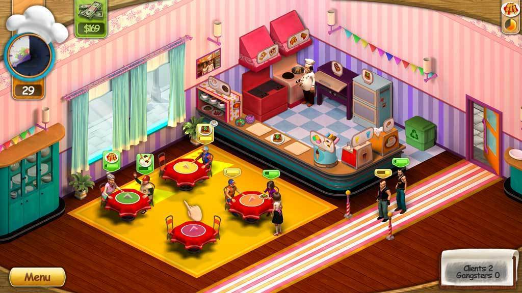 Screenshot 1 for Diner Mania