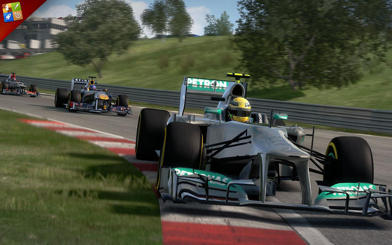 Screenshot 1 for F1 2013: Classic Edition
