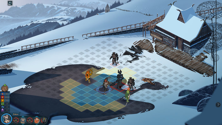 Screenshot 1 for The Banner Saga