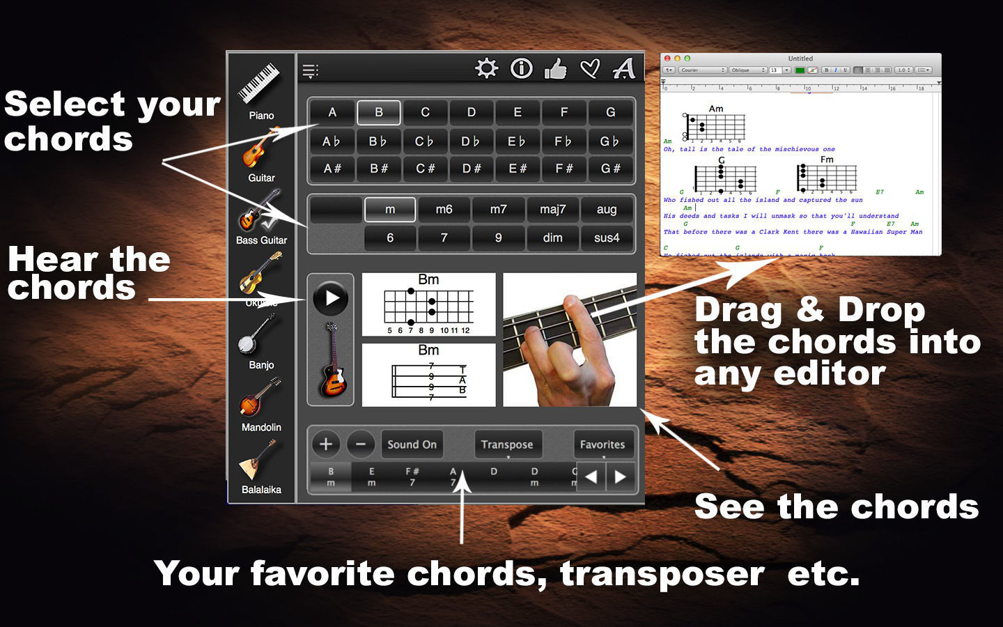 Screenshot 2 for ChordsMaestro