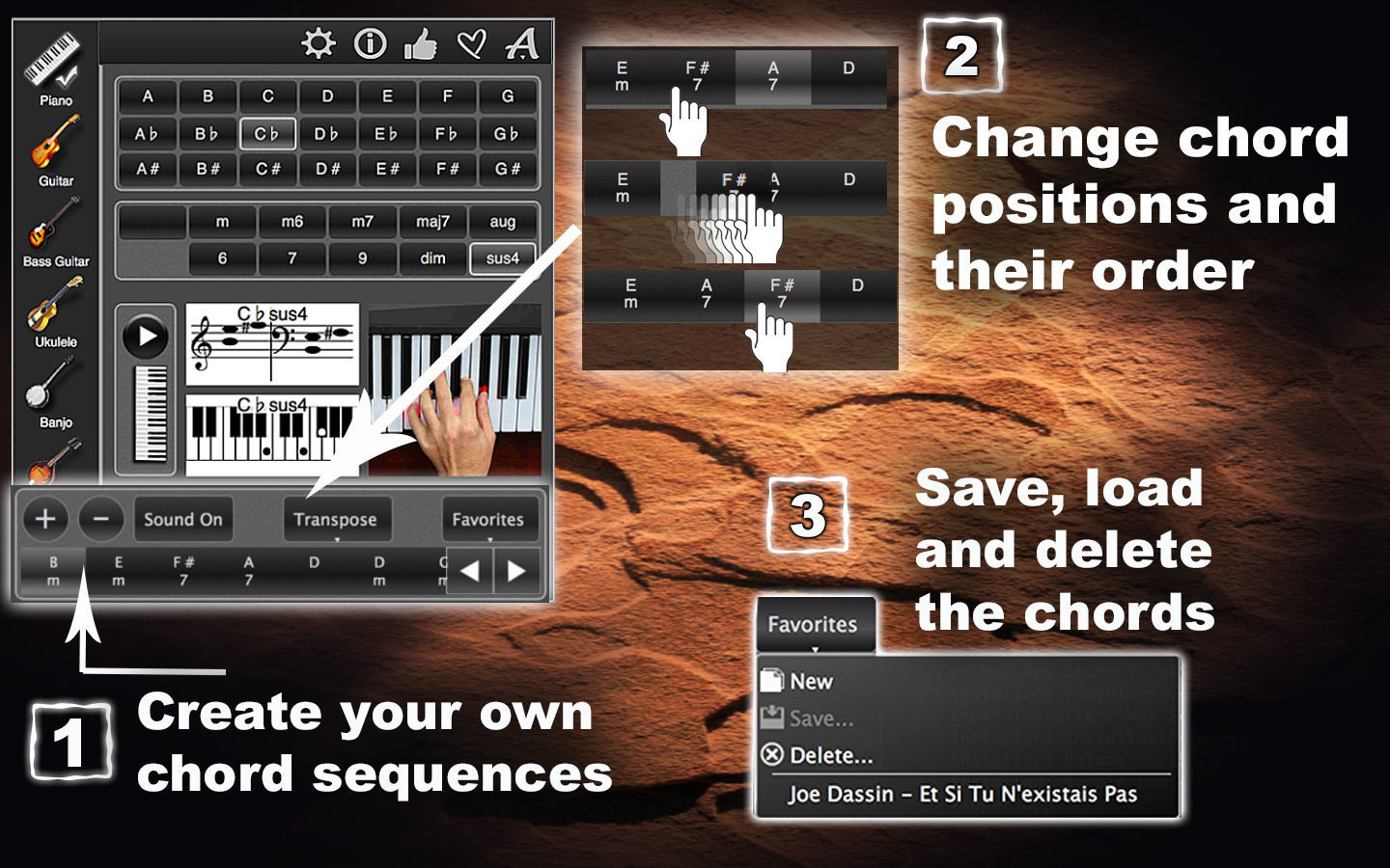 Screenshot 4 for ChordsMaestro