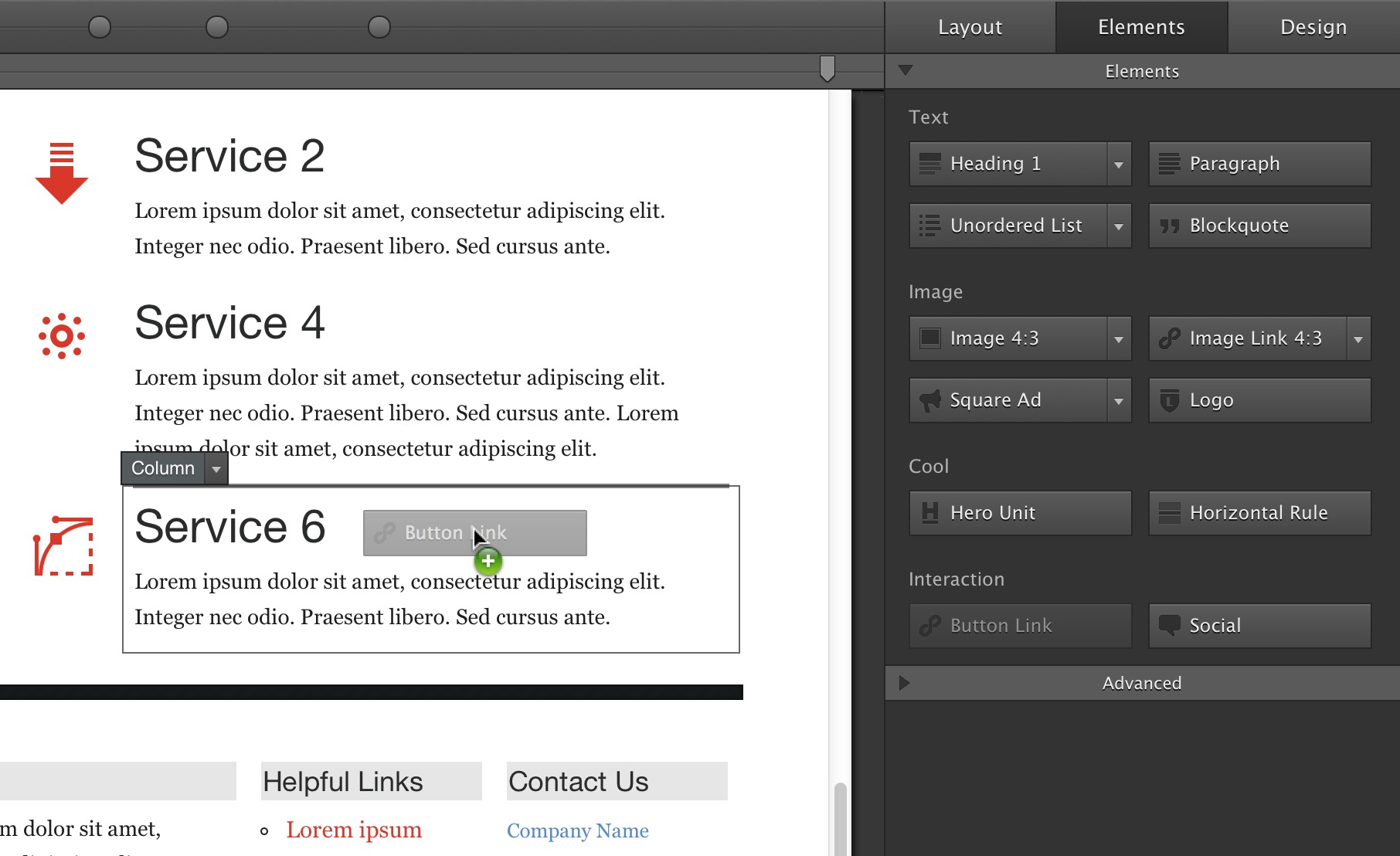 Screenshot 1 for Responsive Layout Maker