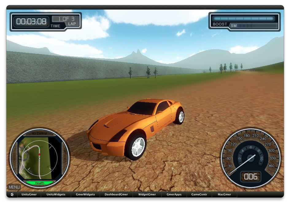 Screenshot 1 for Overtorque Stunt Racing Widget