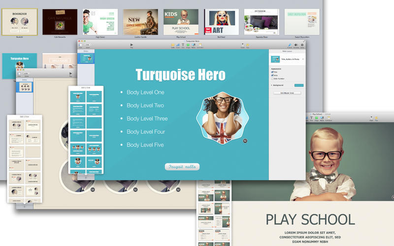 Screenshot 4 for Templates Bundle for iWork