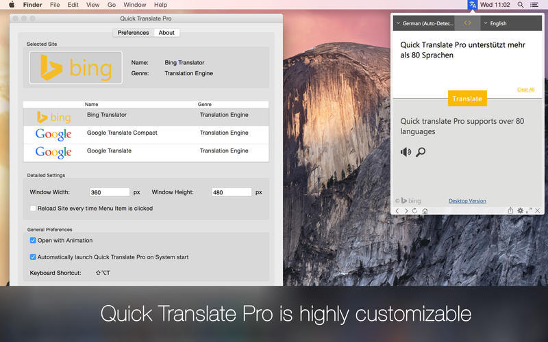 Screenshot 5 for Quick Translate Pro