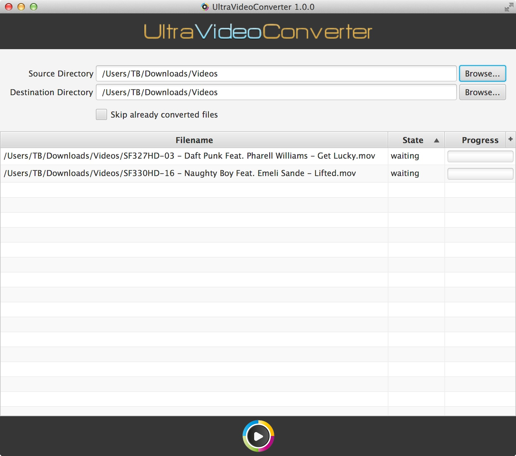 Screenshot 1 for UltraVideoConverter
