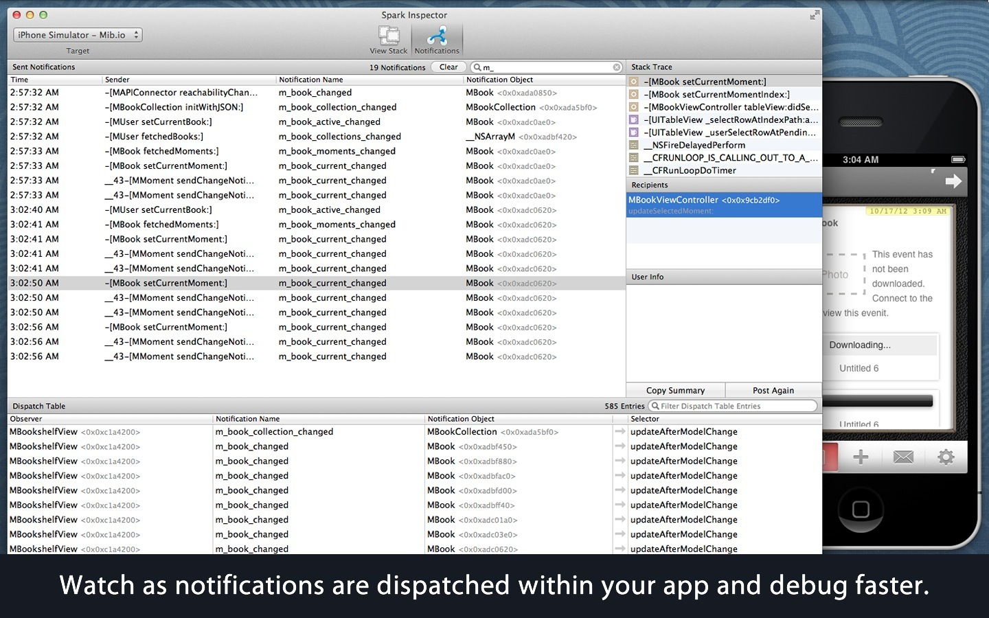 Screenshot 3 for Spark Inspector
