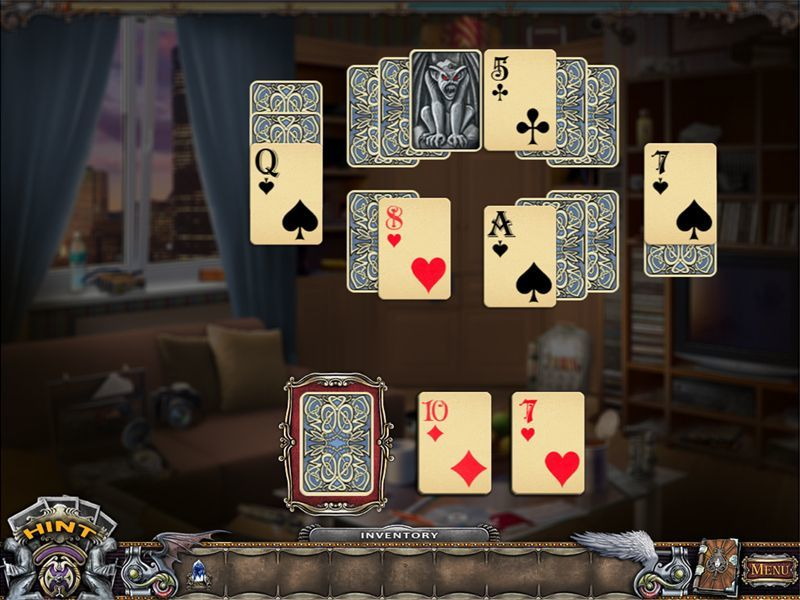 Screenshot 1 for Solitaire Mystery: Stolen Power