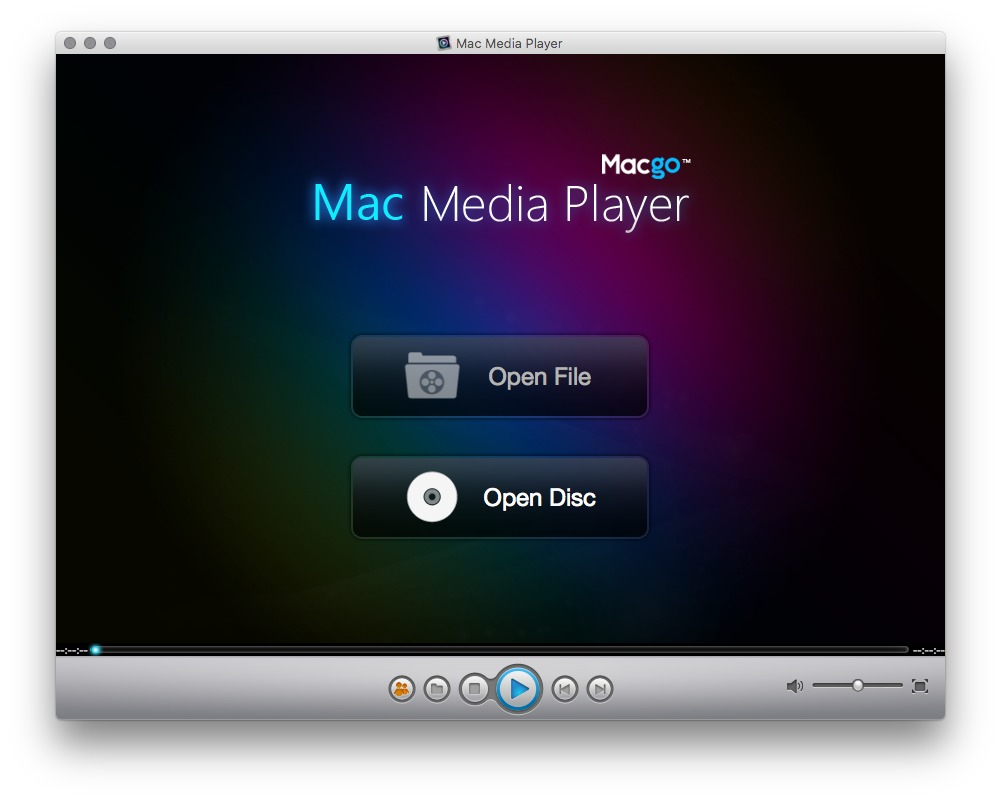 Media Player For Os X