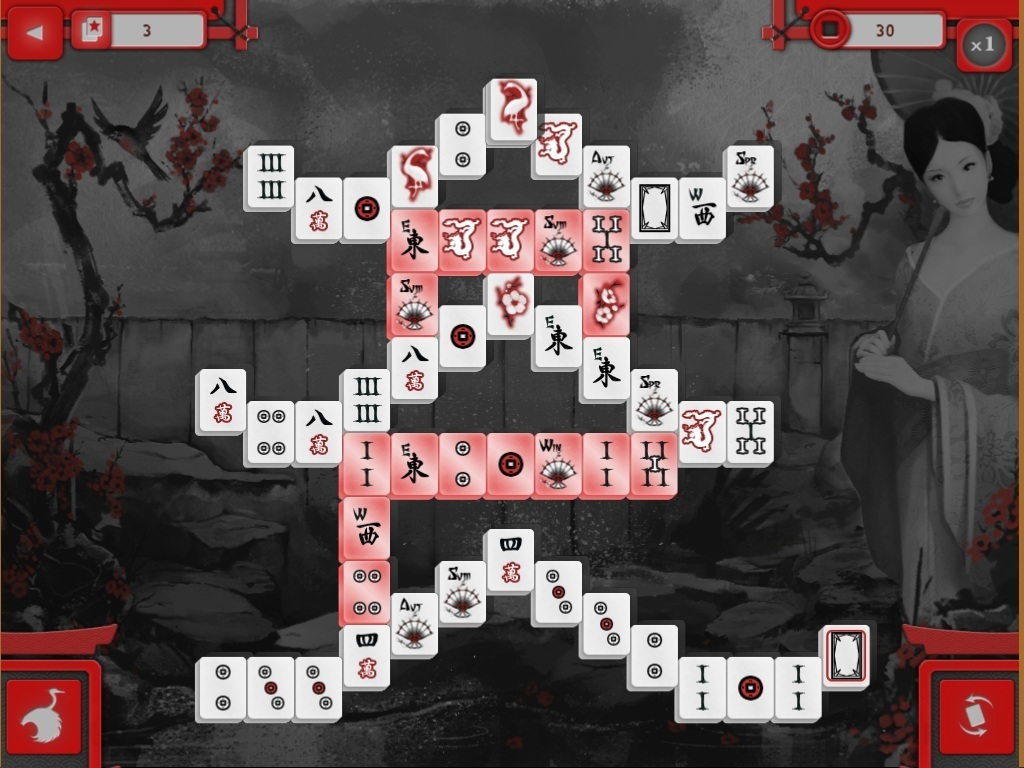 Screenshot 1 for Asian Mahjong