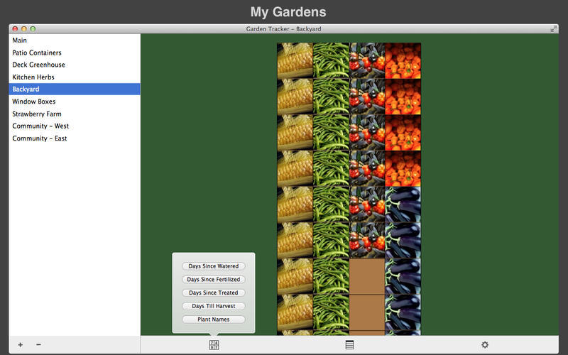 Screenshot 1 for Garden Tracker