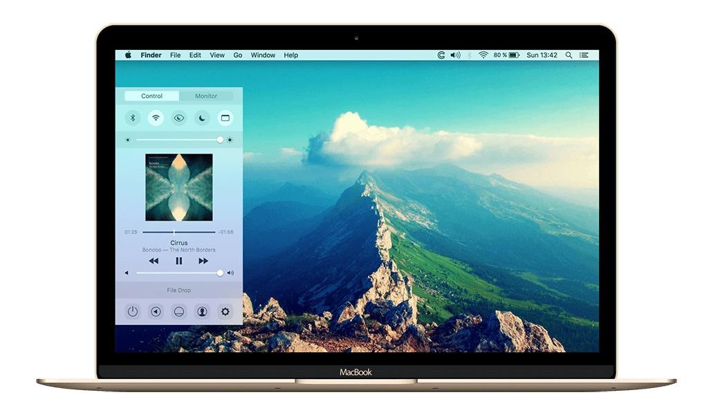 Command Center for Mac 1.2 破解版 – 实用的iOS风格控制中心-麦氪派