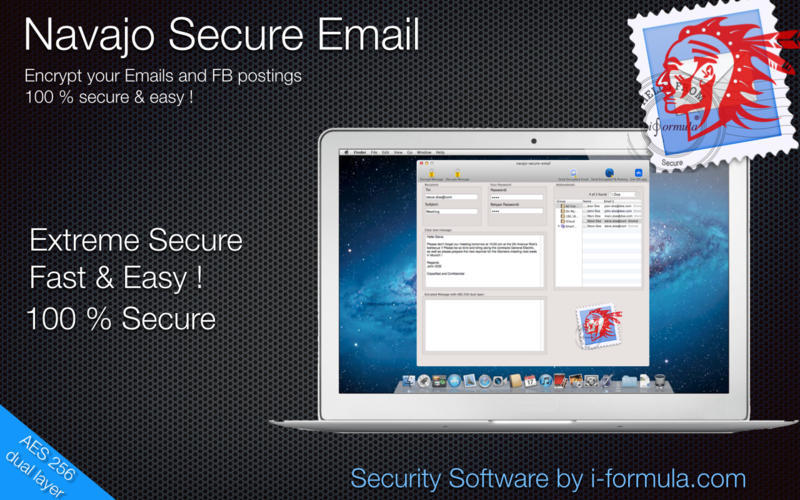 Screenshot 1 for Navaja Secure Email