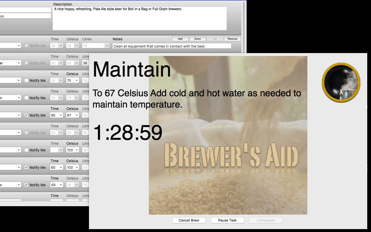 Screenshot 1 for Brewer's Aid