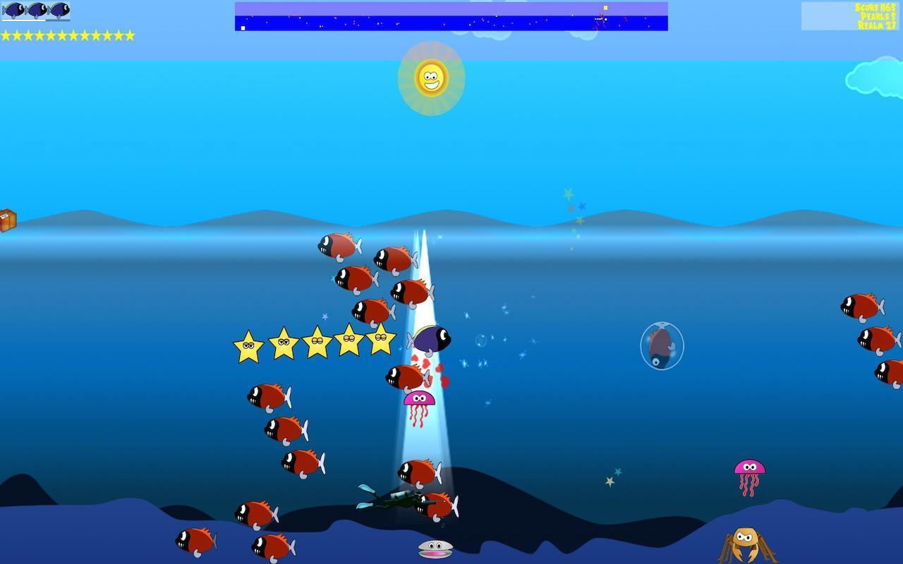 Screenshot 1 for Tang's Starfish Rescue