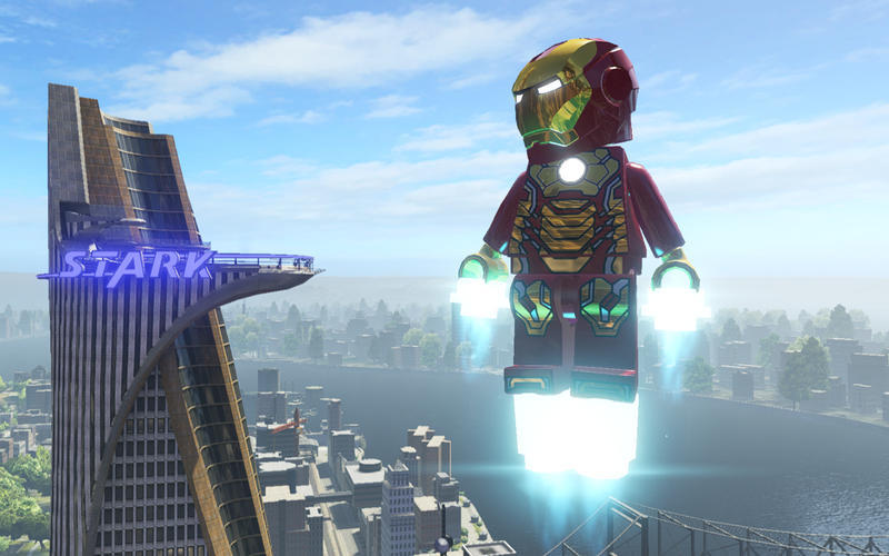 Screenshot 1 for LEGO Marvel Super Heroes