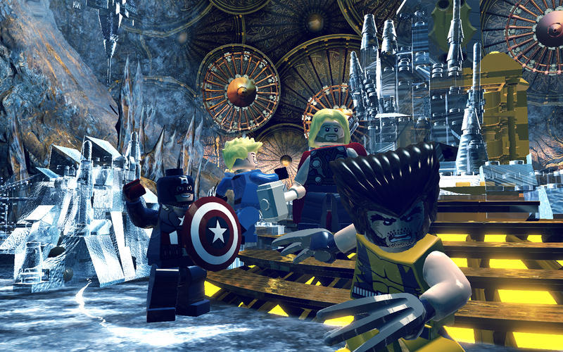 Screenshot 5 for LEGO Marvel Super Heroes