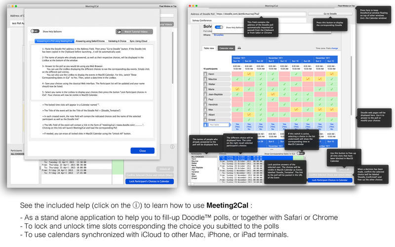 Screenshot 5 for Meeting2Cal