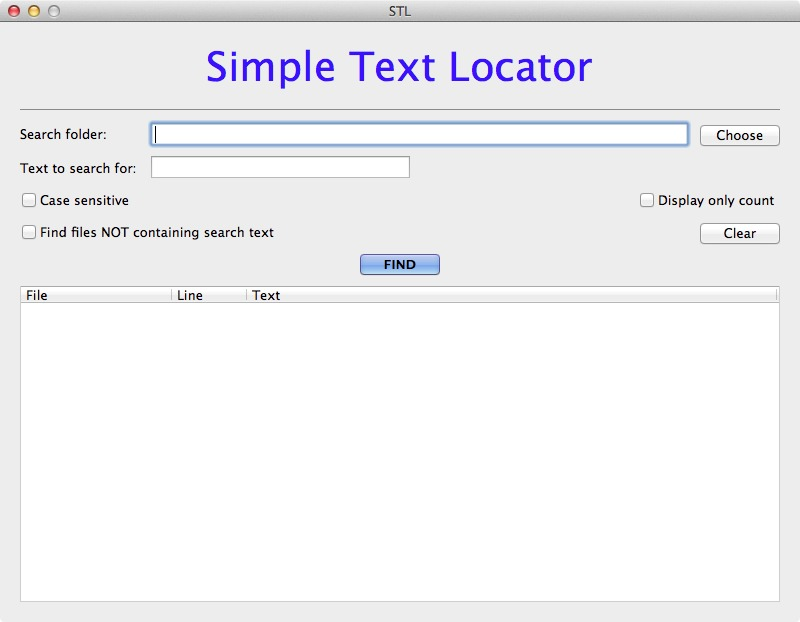 Screenshot 1 for Simple Text Locator
