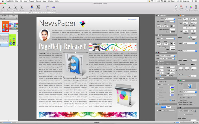 Screenshot 1 for PageMeUp