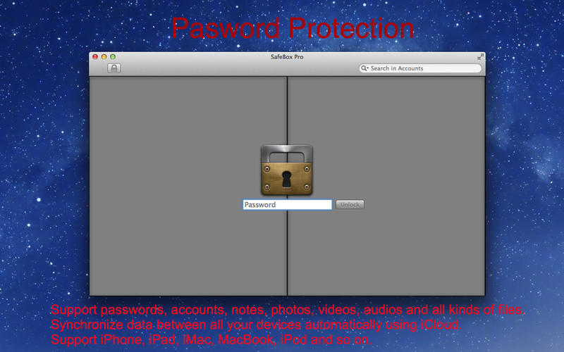 Screenshot 1 for SafeBox Pro