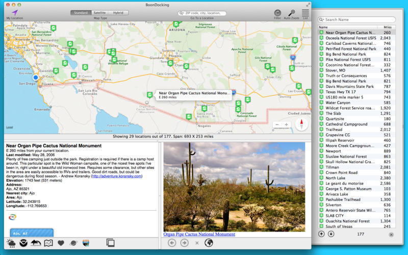 Screenshot 3 for Boondocking