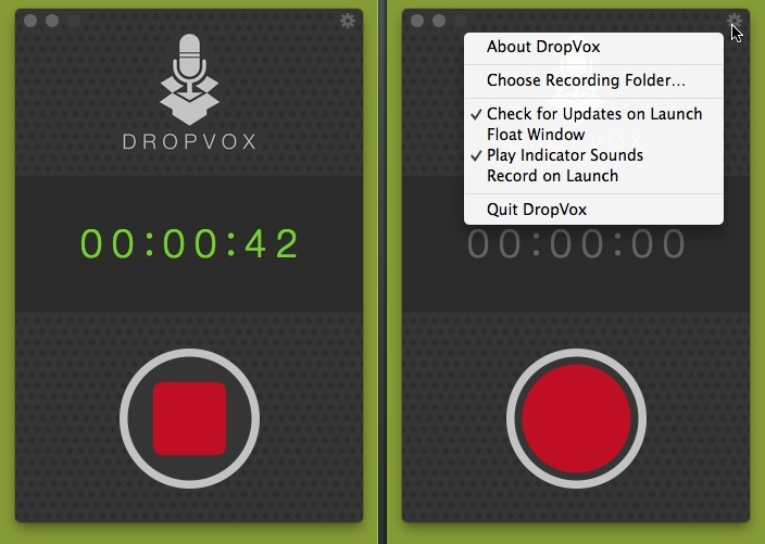 Screenshot 1 for DropVox