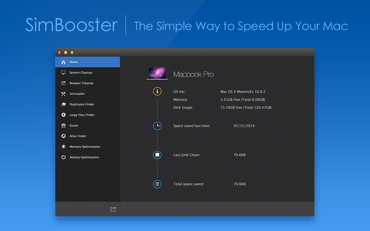Screenshot 1 for SimBooster Pro