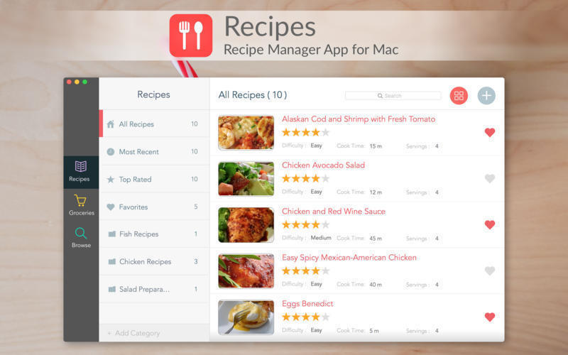 Screenshot 1 for Recipes