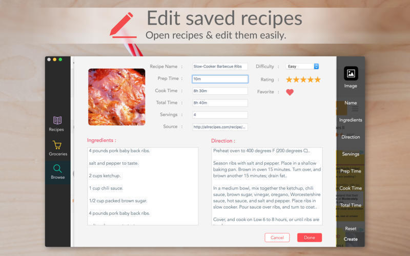 Screenshot 5 for Recipes