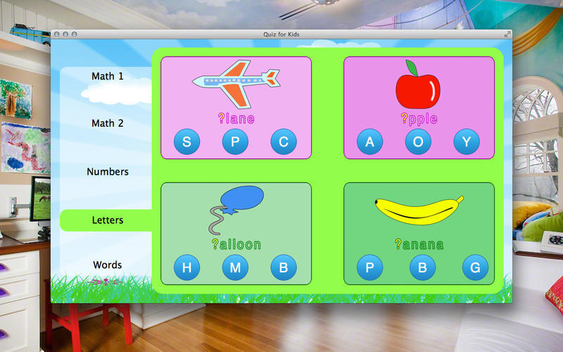 Screenshot 1 for Quiz for Kids