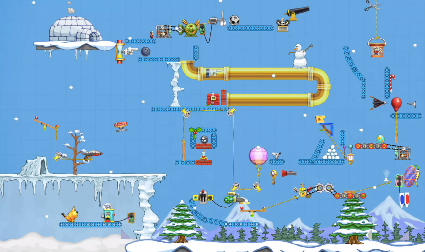 Screenshot 1 for Contraption Maker