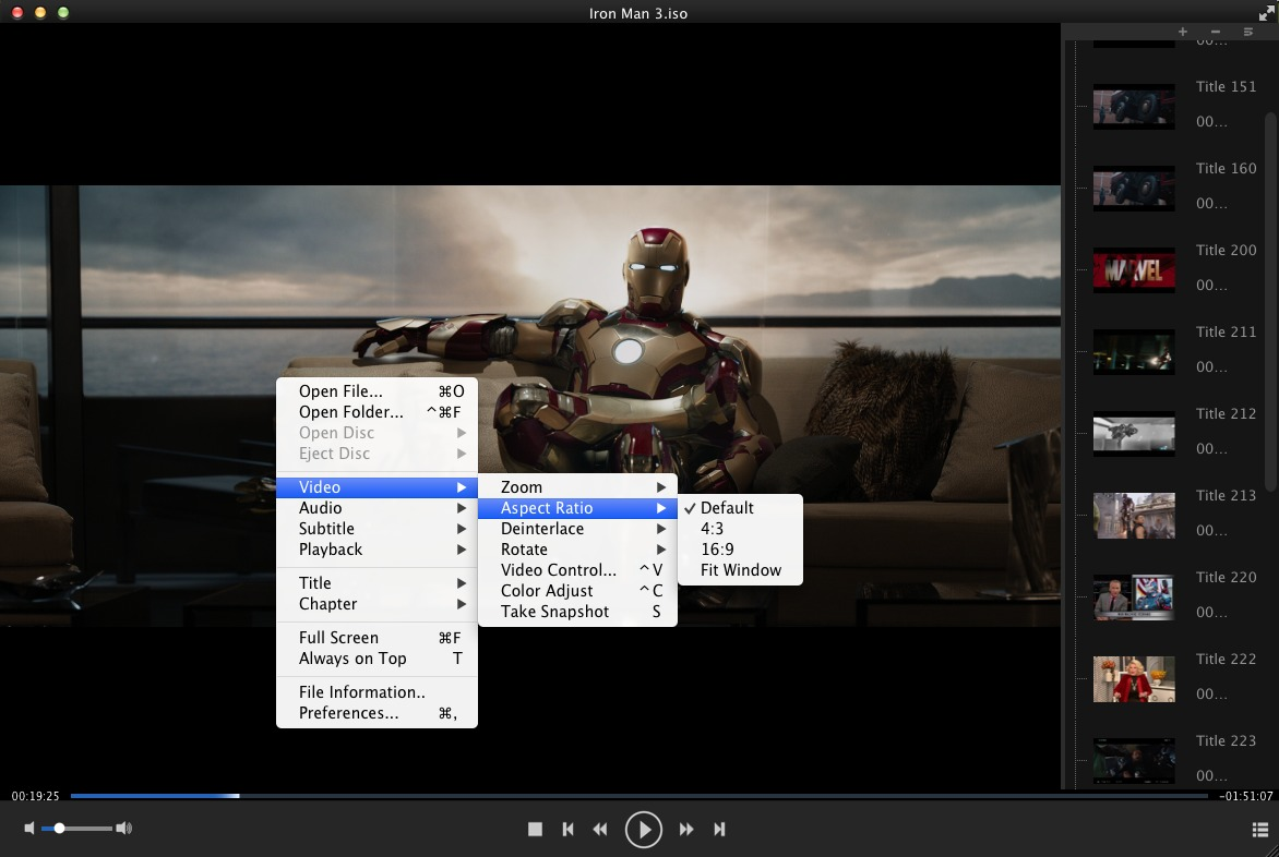 Screenshot 1 for DVDFab Media Player