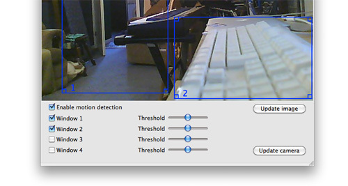 Screenshot 1 for IP Camera Utility