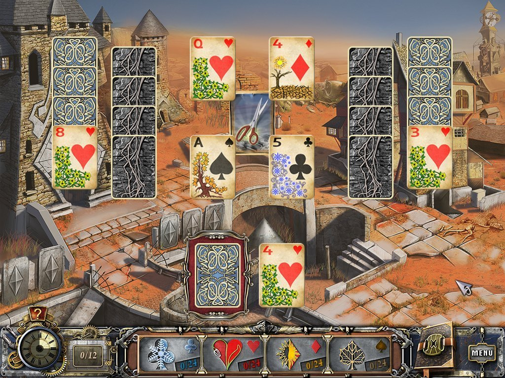 Screenshot 1 for Solitaire Mystery: Four Seasons