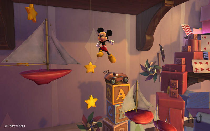 Screenshot 1 for Castle of Illusion Starring Mickey Mouse