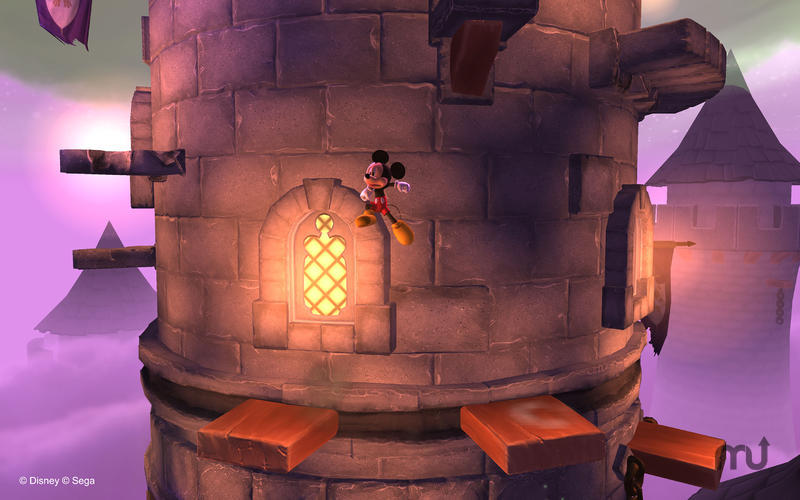 Screenshot 2 for Castle of Illusion Starring Mickey Mouse