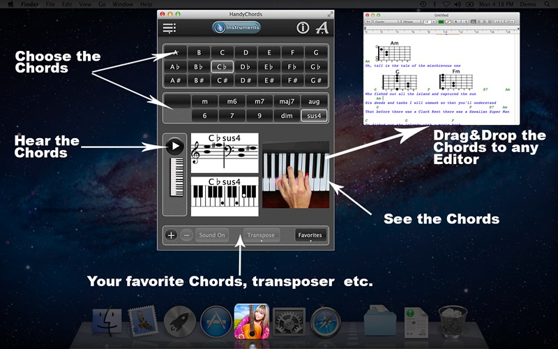 Screenshot 1 for HandyChords