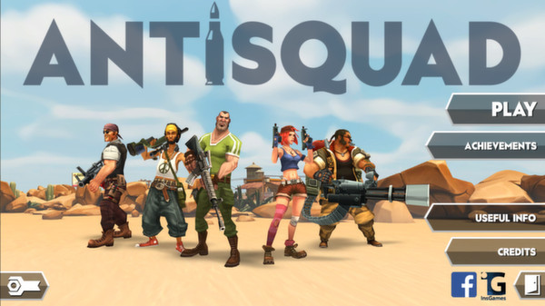 Screenshot 1 for Antisquad
