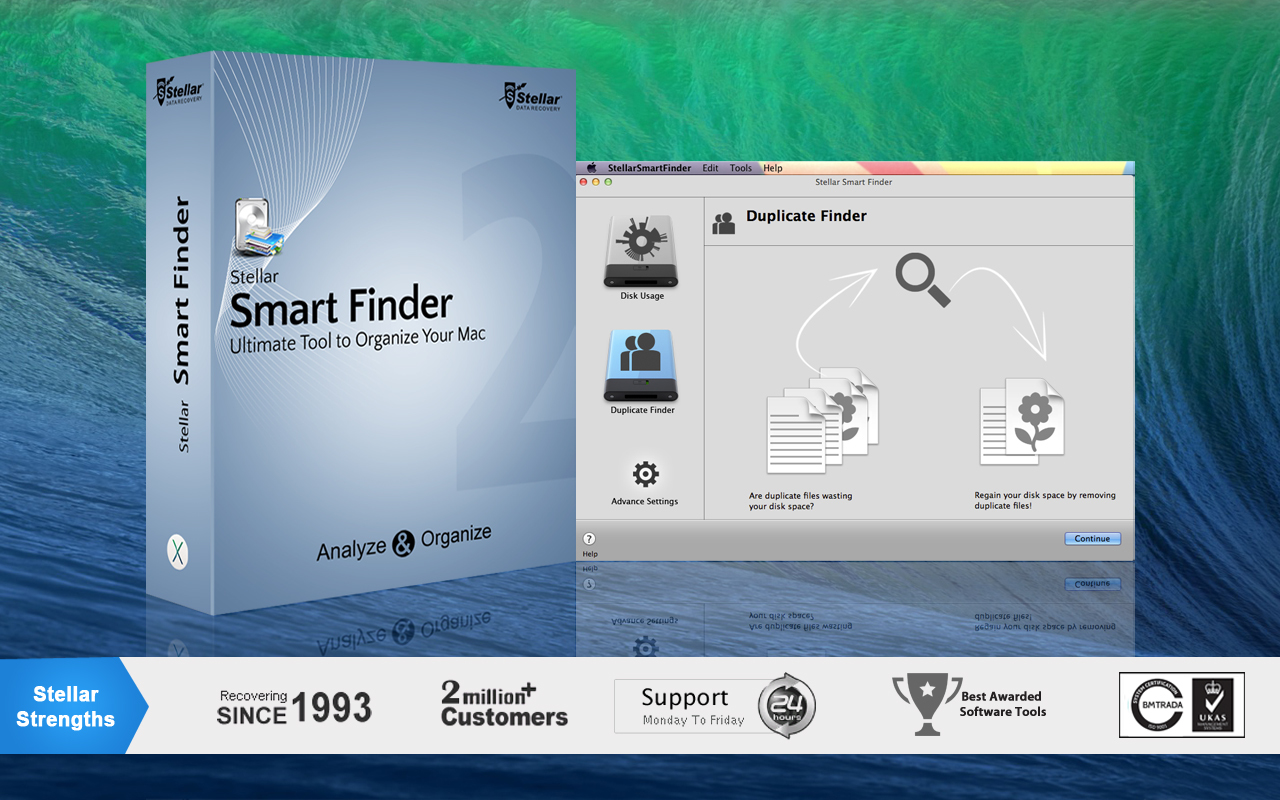 Screenshot 1 for Stellar Smart Finder