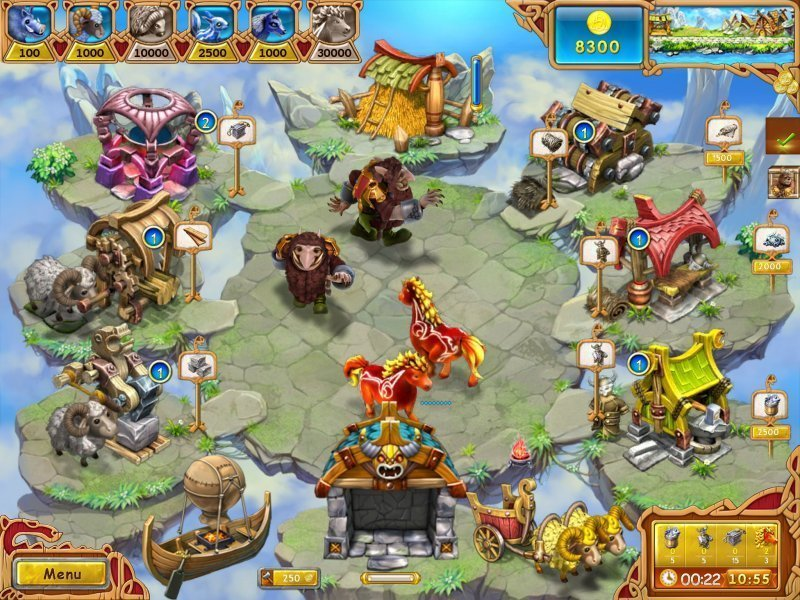 Screenshot 1 for Farm Frenzy: Viking Heroes