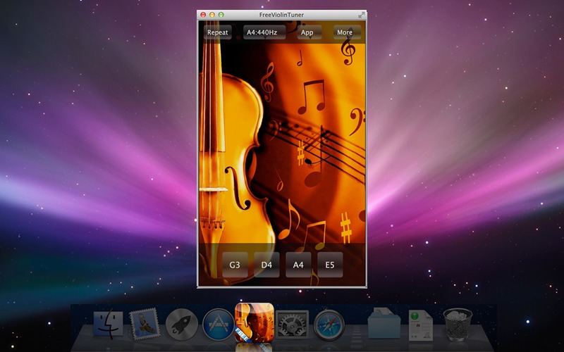 Screenshot 1 for FreeViolinTuner